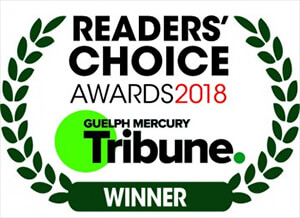 Readers Choice Award in Guelph, ON